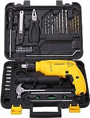 Stanley SDH600 600-Watt Impact Drill Kit (Yellow, 35-Pieces)