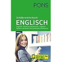 PONS Schülerwörterbuch Englisch: Englisch – Deutsch und Deutsch – Englisch. Mit dem relevanten Wortschatz aller…