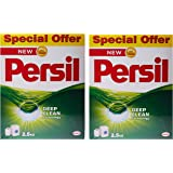 Persil Laundry Detergent Powder, Pack of 2 x 2.5 Kilograms