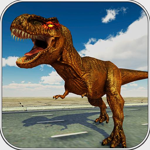 Dinosaurier im Stadt Simulator 2018 3D Transformatoren Stadt