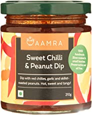 Aamra Natural Homemade Sweet Chilli and Peanut Dip 210gm
