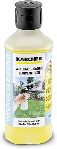 Kärcher Glasreiniger-Konzentrat RM 503 (Volumen: 0,5 l, streifenfreie Reinigung von Glas, Fenster, Spiegel und Duschkabinen)