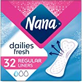 Nana Panty Liners, Normal, Pack of 32