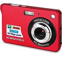 Bosszi kids Digital Camera, Compact Digital Camera 18 Mega Pixels Rechargeable Camera…