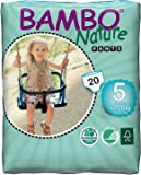 Bambo Nature Premium Baby Diapers - Pants Style, Large Plus Size, 20 Count - Super Absorbent Toilet Training Pull Ups…