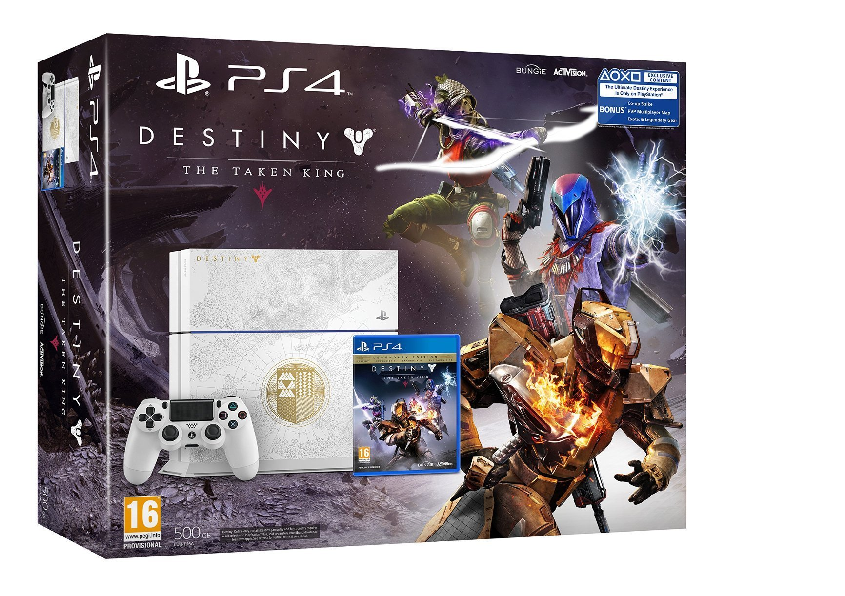 Sony PlayStation 4 Limited Edition with Destiny : The Taken King - [Edizione: Regno Unito]