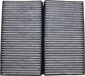 Ifjf One Paar Air Filter Innenraumfilter Mit Aktivkohle Ersetzt 64316935823 Für Bmw 5 E60 E61 6 E63 E64 Auto