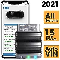 Bluetooth OBD2-Scanner TT TOPDON SmartDiag Mini OBD2 Bluetooth-Autodiagnose-Scanner mit Allen Systemdiagnosen, 16 Reset…