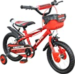 Kingston Kids Cycle 14 inch Ninja BMX with Basket for 3 to 5 Years Child- K353
