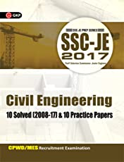 SSC JE Civil Engineering 10 Solved Papers & 10 Practice Papers