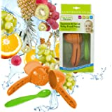 Squeeze & Serve Baby Food Press Feeding Spoon Fresh Healthy Food Puree BPA Free