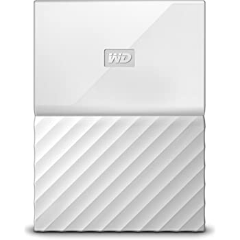 WD My Passport 2 TB Portable Hard Drive and Auto Backup Software for PC, Xbox One and PlayStation 4 - White