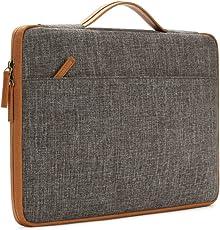 Redhot 15.6-inch Laptop Sleeve Bag (Brown Handle)