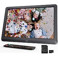 Digitaler Bilderrahmen 10 Zoll, Elektronischer Bilderrahmen mit 32GB SD Karte, Multifunktionaler Fotorahmen zum…