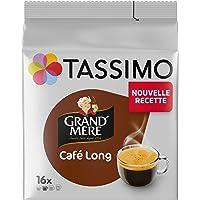 Tassimo Café Dosettes - 80 boissons Grand Mère Long (lot de 5 x 16 boissons)