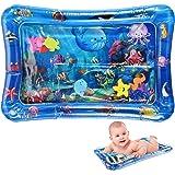 Tappetino per Bambini d'Acqua Gonfiabile, Tappetino Gonfiabile da Giochi, Gonfiabili Per Bambini Giochi Per Neonati, Perfetto