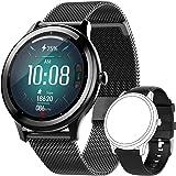 """JINPXI Smartwatch Reloj Inteligente para Hombres, IP68 Resistente al Agua 1.28"""" TFT con Monitor de Sueño, Calorías y Frecuenc"""