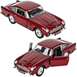 Magicwand® KiNSMART 1:38 Scale Die-Cast Metal Martin DB5 (James Bond 007 Goldfinger) with Openable Doors & Pull Back Action (