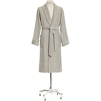 4c88f8193a Möve Bamboo Luxe 275240827823 L Bath Robe with Shawl Collar Size L Light  Grey