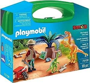 Playmobil Dinosaurier und Forscher Aktentasche 70108