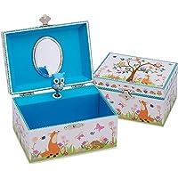 Lucy Locket Portagioie 'Animali del Bosco' (portagioie, carillon musicale, scatola regalo per bambini) - Splendido…