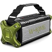 W-KING 50W(70W Gipfel) Bluetooth Lautsprecher IPX6 Wasserdicht, 24 Stunden Laufzeit, 8000mAh Power Bank, 30 Meter…