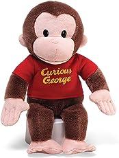 "Curious George Red Shirt: 12"" Plush"