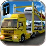 Car Transport Trailer 3D