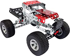 Meccano Erector Desert Adventure, 20-in-1 Model S.T.E.A.M. Building Kit, for Ages 8 and Up