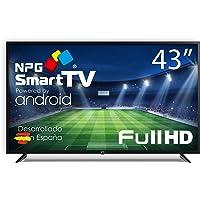 "Téléviseur NPG LED 43"" Full HD, Smart TV Android, WiFi, Bluetooth, TDT2 H.265, PVR"