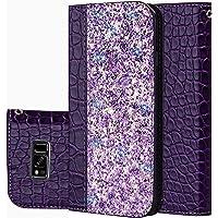 für Smartphone Samsung Galaxy S8 Hülle, Leder Tasche für Samsung Galaxy S8 (5.8 Zoll) Flip Cover Handyhülle Bookstyle mit Magnet Kartenfächer Standfunktion
