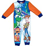 Pixar Disney Toy Story Boys Fleece Onesie All in One Pyjamas Kids Sleepsuit Onezee 2-6 Years