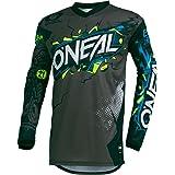 Oneal Element Villain Jeugd Motocross Jersey Grijs