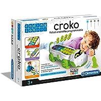 Clementoni- Coding Lab-Coko, Robot Crocodile programmable, 52384, Multicolore