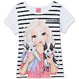 Top Model niñas T-Shirt, Camiseta, Blanco