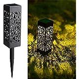 Maggift 8 Pcs Solar Powered LED Garden Lights