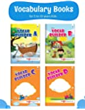 Blossom English Vocabulary Books for 5 to 10 Year Old Kids   Vocab Builder with Colourful Pictures and Activities for Children   Learn English Speaking and Writing   Set of 4 Books