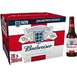 Budweiser Lager Beer Bottle, 20 x 300ml