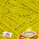 OUTRANK Marigold Artificial Flowers for Decoration Long Garland Perfect for Diwali Decoration Navratri, Pooja, Home Inaugurat
