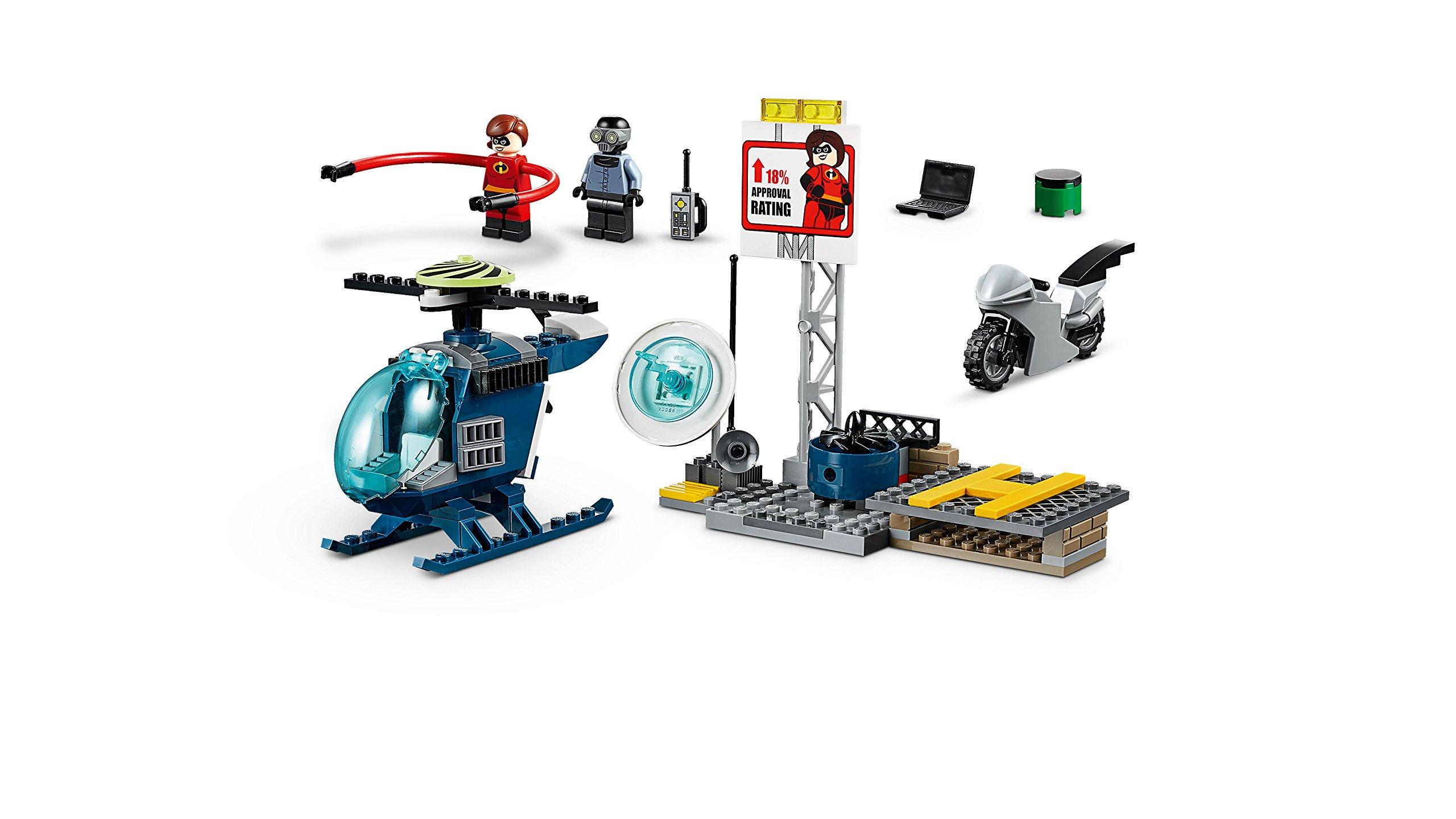 LEGO- Juniors Set Mattoncini Inseguimento sul Tetto di elastigirl, Multicolore, 10759 4 spesavip