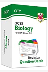 New 9-1 GCSE Biology AQA Revision Question Cards (CGP GCSE Biology 9-1 Revision) Paperback