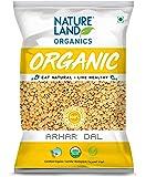 Natureland Organics Arhar / Toor Dal 500 Gm - Organic Healthy Pulses