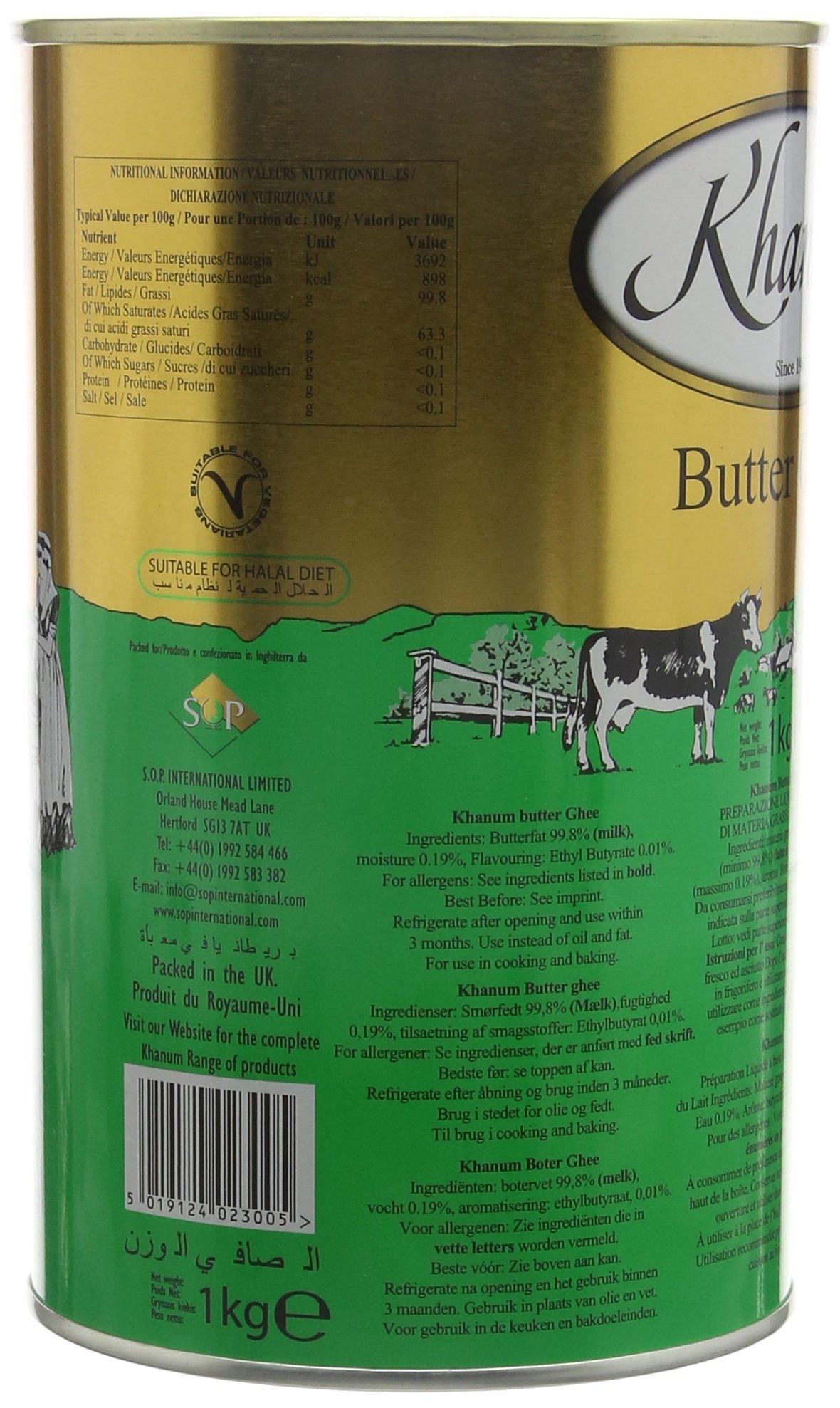 Khanum Butter Ghee 1 Kg 4