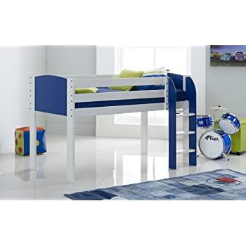 Scallywag Kids Children\'s Mid Sleeper Cabin Bed Narrow Shorty ...