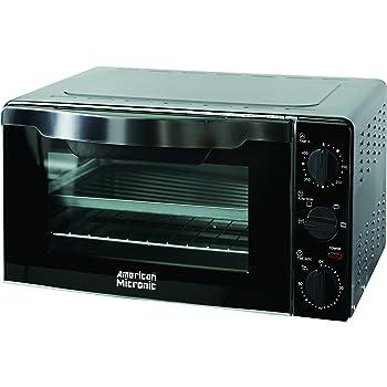 American Micronic AMI OTG 18LDx 1300-Watt Oven Toaster Griller (Black)