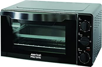 American Micronic AMI-OTG-18LDx 18Ltr 1300-Watt Imported Oven Toaster Griller (Black)