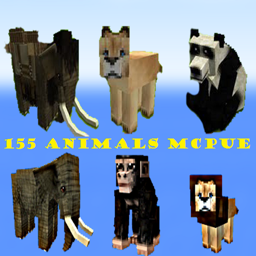 150 New Aniimals Pack For MCPUE
