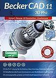 BeckerCAD 11 3D PRO für Windows 10 8 7   Cad-Software für Architektur, Maschinenbau, Modellbau und Elektrotechnik   3D Zeichenprogramm kompatibel mit Autocad