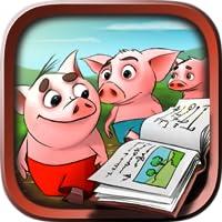 Drei kleine Schweine - Tal & interaktives Buch