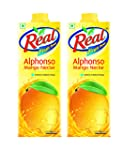Real Alphonso Mango, 1L (Pack of 2)